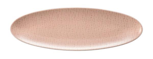 L Fashion posh rose Servierplatte schmal 44x14 cm