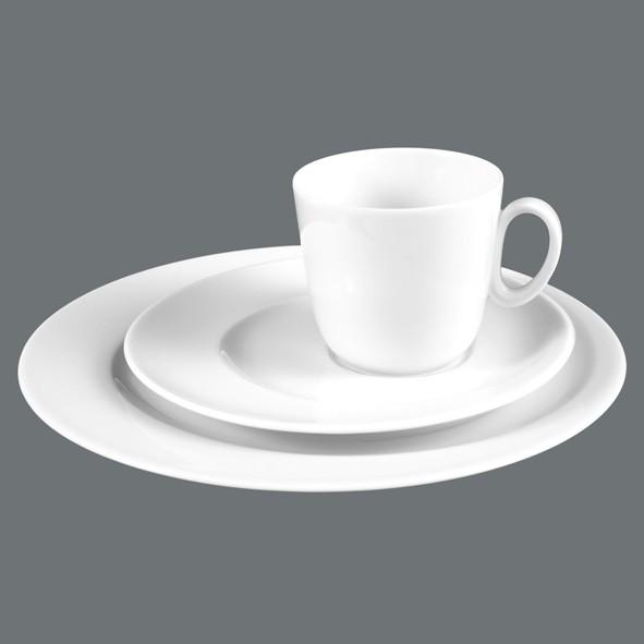 Kaffee-Gedeck 3tlg. Paso Uni, rund