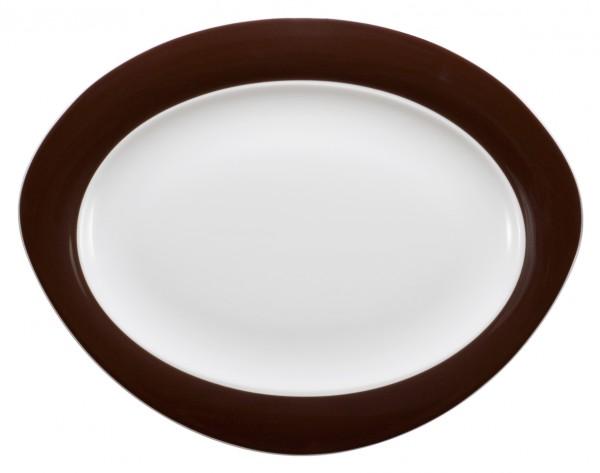 Platte oval, 35cm, Trio zartbitter