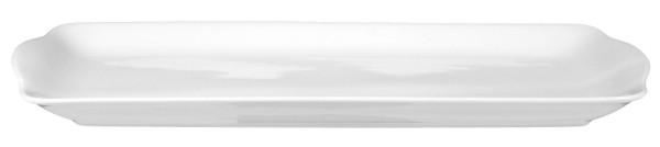 Rondo/Liane weiß Kuchenplatte eckig 35cm