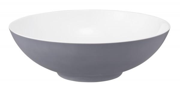 L Fashion elegant grey Schüssel rund 30cm