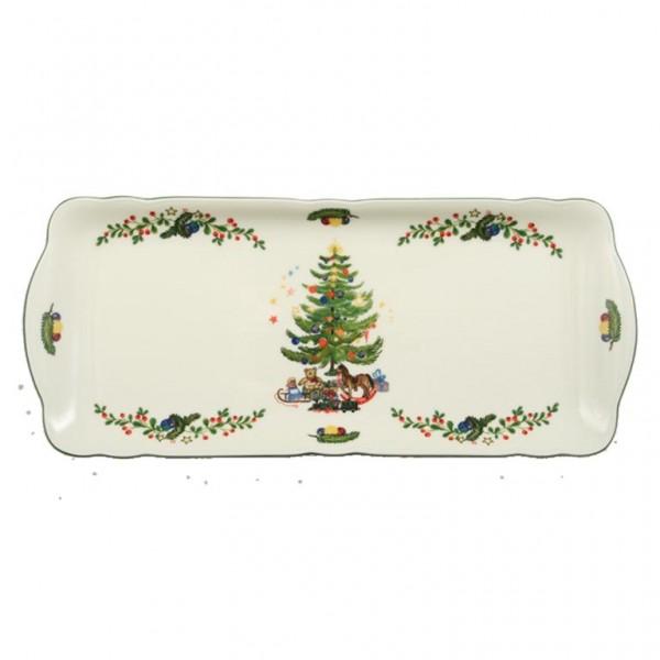 Kuchenplatte Eckig 35cm Weihnachten 43607