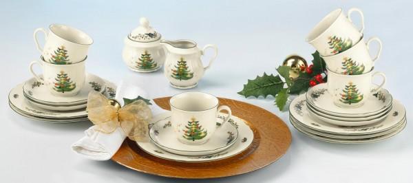 Kaffee Service 20 Teilig Weihnachten 43607