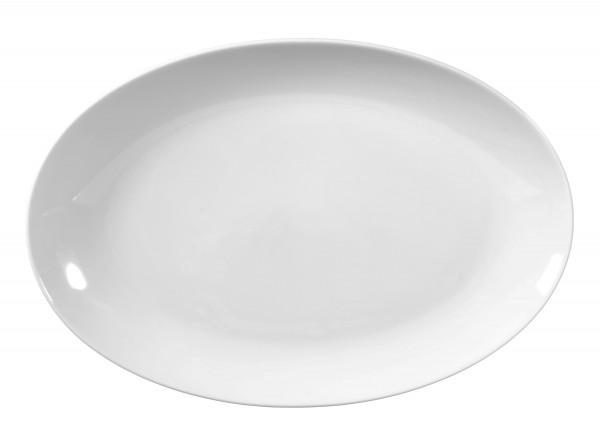 Rondo/Liane weiß Servierplatte oval 31 cm