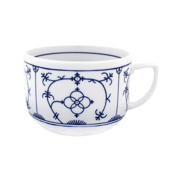 Indischblau zylindrisch Kaffee-Obere 0,2l