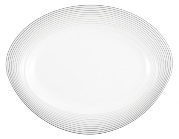 Platte oval 35cm Trio Nero