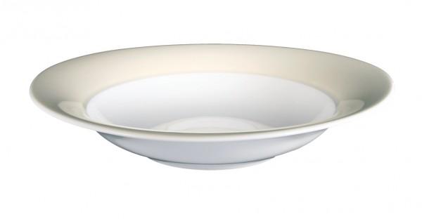 Suppenteller 23cm Trio vanille
