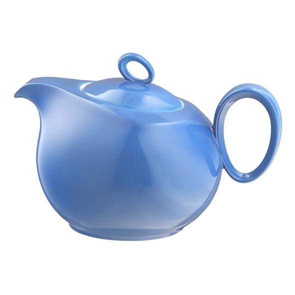 Teekanne 6 Personen Trio blau