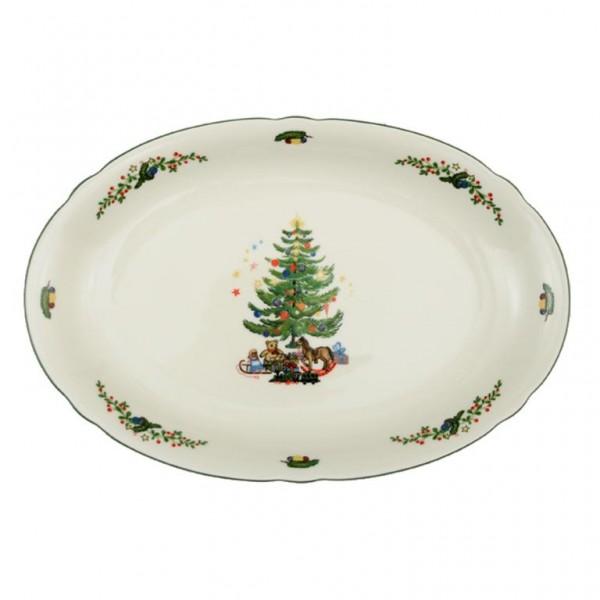 Platte Oval 35cm Weihnachten 43607