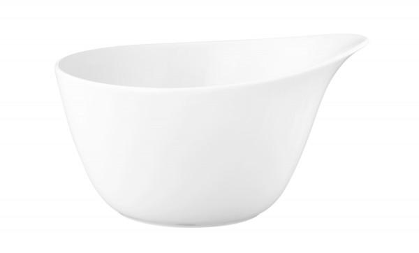 L Fashion luxury white Müslischale mit Griff 0,60l
