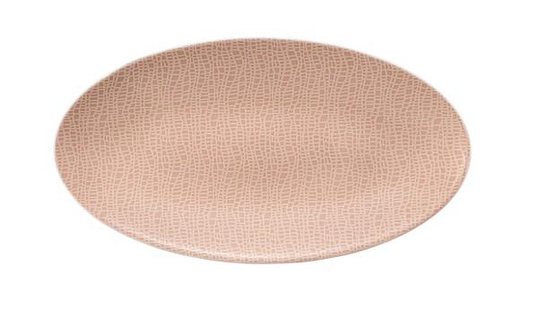L Fashion posh rose Servierplatte oval 33x18 cm